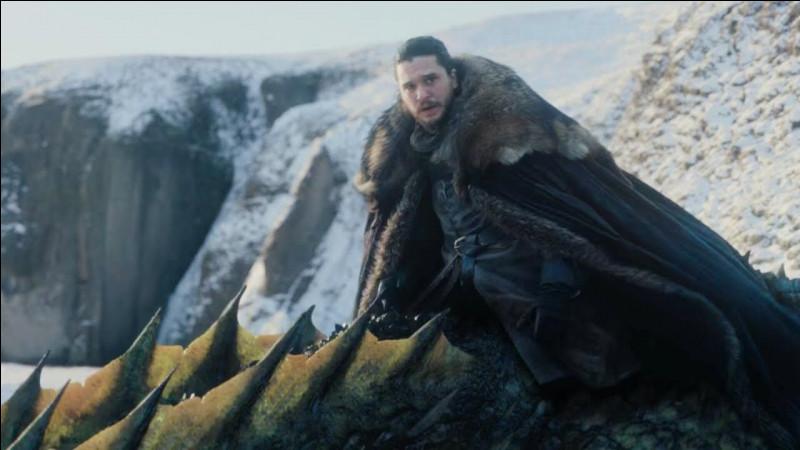 Quel dragon Jon Snow chevauche-t-il ?