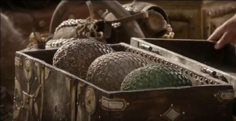 En quoi se change les œufs de dragons s'ils n'ont pas eu le temps d'éclore ?