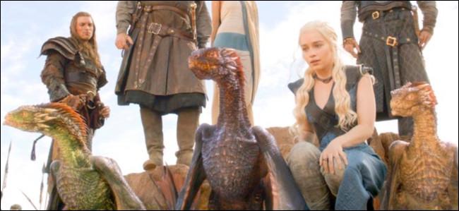Qui dit cette phrase et à qui ?Tu es un dragon, soit un dragon...