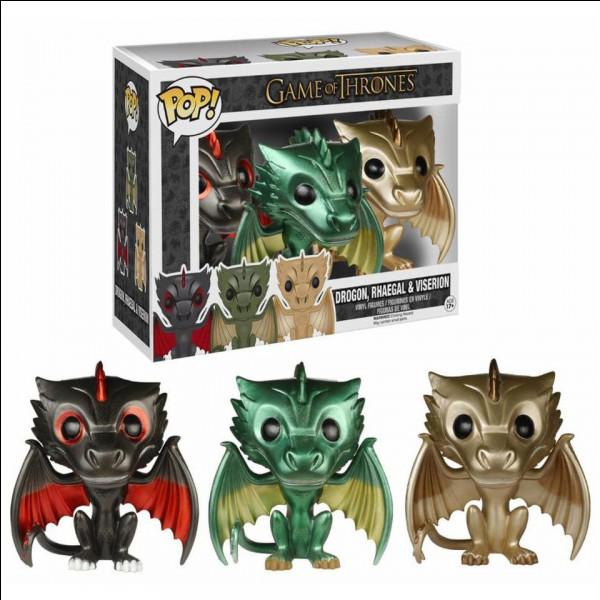 Et pour finir combien de Pop des dragons de Games of Thrones existe-t-il dans le monde ?