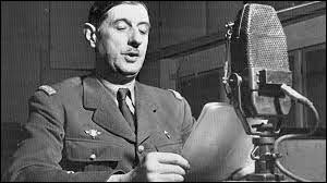En quelle année a lieu l'appel du 18 juin de Charles de Gaulle sur les ondes de la BBC ?