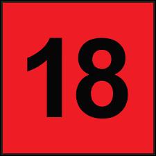 Comment écrit-on le nombre 18 en lettres en anglais ?