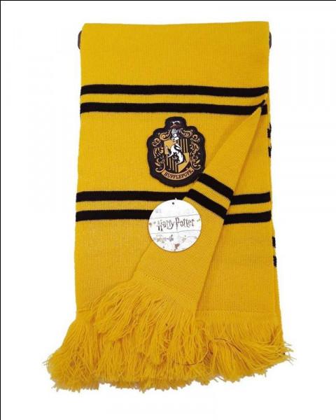 Les couleurs de Poufsouffle ! Le jaune et le noir ... ça ne vous rappelle rien ?
