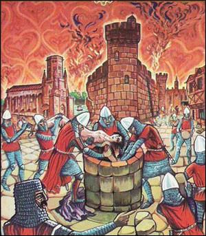 Au cours de ses campagnes visant à conquérir le comté de Toulouse, lors de la croisade des Albigeois, Simon de Montfort assiège cette ville et s'en empare le 3 mai 1211. La prise de la ville est suivie d'exécutions et de massacres : quelle est cette ville du Sud-ouest ?