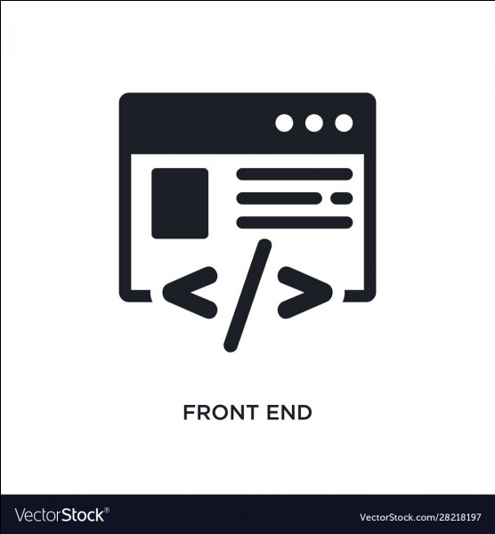 Le langage Front-End utilise :