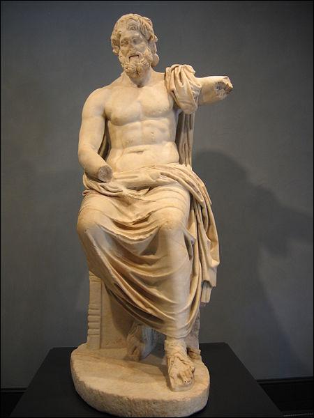 Parmi les attributs cités ci-dessous, quels sont ceux qui sont rattachés à Zeus ?