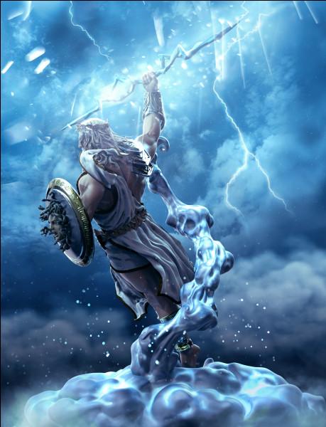 Quel titre est associé au dieu Zeus ?