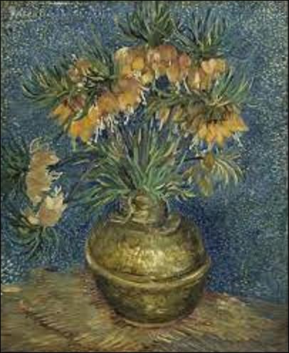 Conservée au musée d'Orsay ''Fritillaires, couronne impériale dans un vase de cuivre'' est un tableau exécuté en 1886 par un postimpressionniste. De qui s'agit-il ?