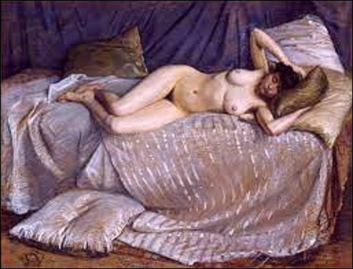 Pastel datant de 1873, ''Femme nue étendue sur un divan'' est un tableau d'un impressionniste. Lequel de ces trois est l'auteur de cette toile ?