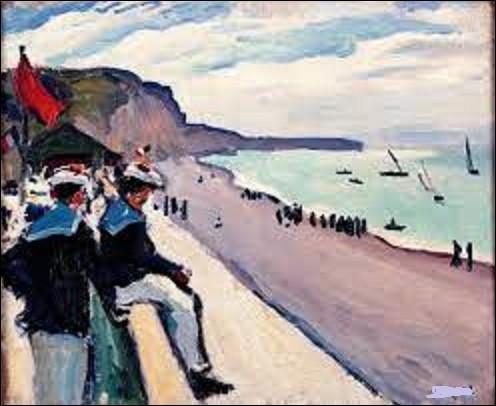 À quel fauviste doit-on ce tableau nommé ''La Plage de Fécamp'' exécuté en 1906 ?
