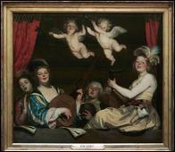Quel peintre hollandais a réalisé 'Le concert' ?
