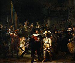 Quel peintre hollandais a réalisé 'La ronde de nuit' ?
