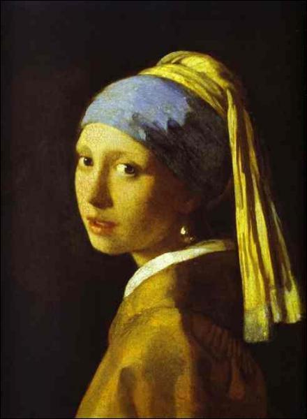 Quel peintre hollandais a réalisé 'La jeune fille à la perle' ?