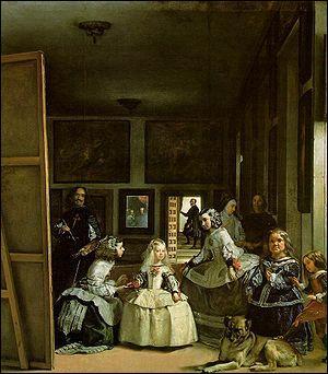 Quel peintre espagnol a réalisé 'Les ménines' ?