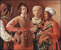 Quel peintre français a réalisé 'La diseuse de bonne aventure' ?
