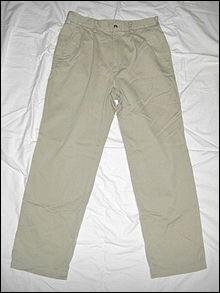 Pantalon léger en coton de coupe ample :