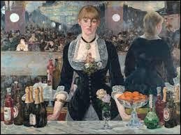 """Quel peintre français a réalisé cette toile """"Un bar aux Folies Bergère"""" ?"""
