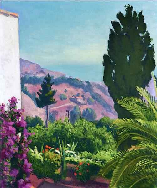 """Quel peintre est l'auteur du tableau """"Cyprès au printemps"""" ?"""