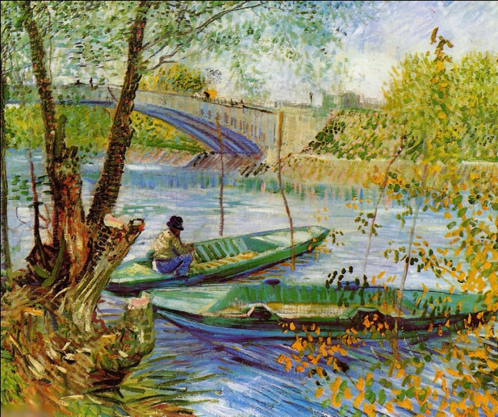 """Quel peintre est l'auteur du tableau """"Pêcheurs au printemps"""" ?"""