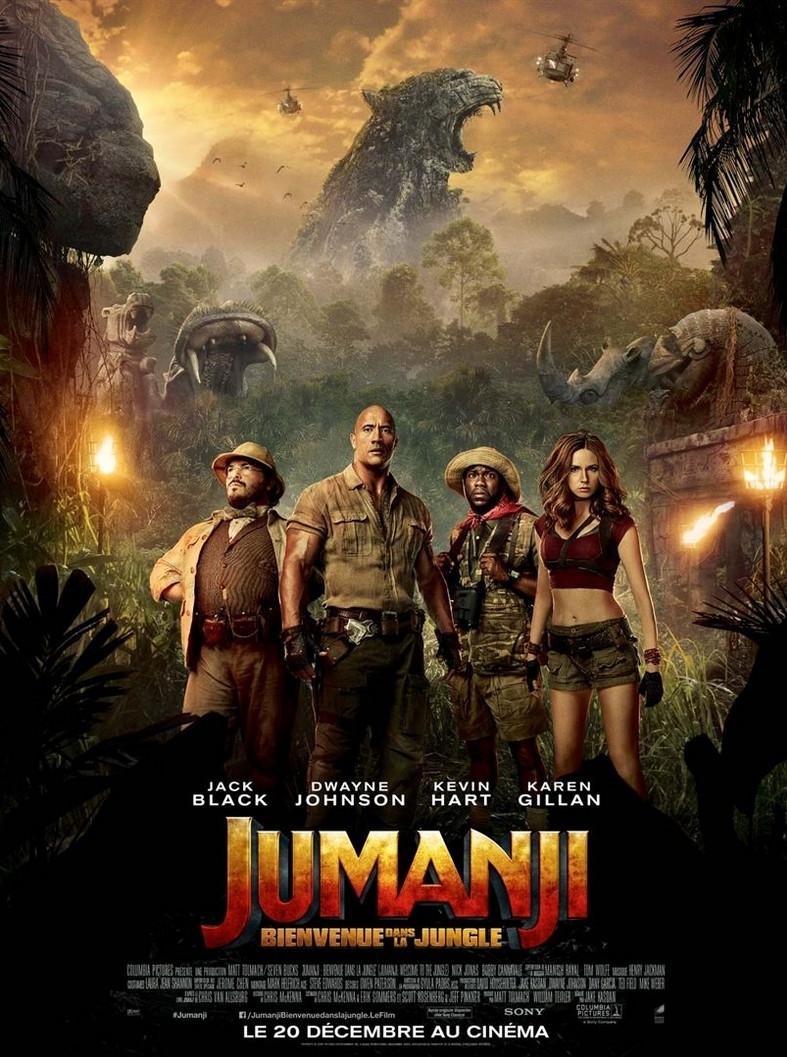 Les personnages de Jumanji : Bienvenue dans la jungle