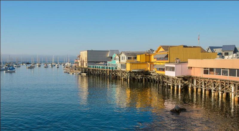 Quelle est cette petite ville touristique du littoral californien, connue pour ses plages et sa jetée ?