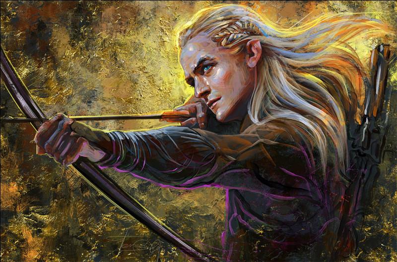 Comment se nomme l'elfe blond da la saga et série du Seigneur des Anneaux ?