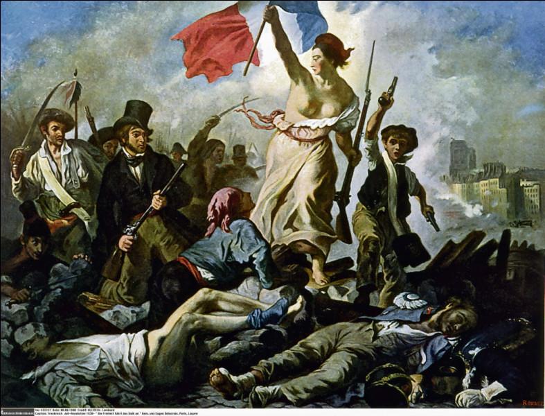 De qui est cette œuvre de 1830 ?