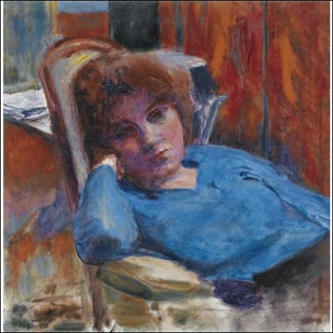"""Qui a peint """"Le Corsage bleu"""" ?"""