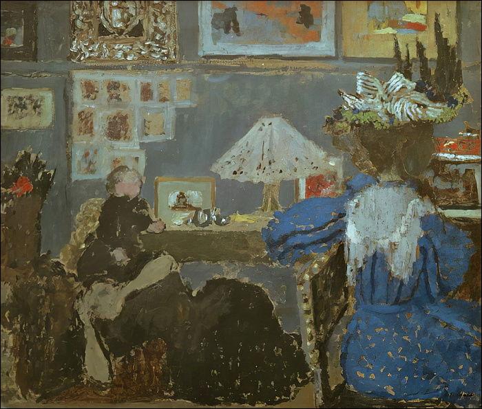 """Qui a peint """"Femme en bleu"""" ?"""