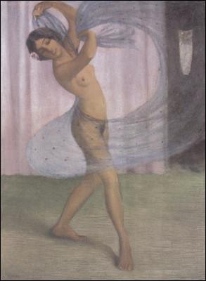 Qui a peint cette danseuse ?