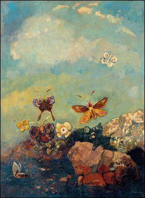 """À qui appartient la toile nommée """"Papillons"""" ?"""