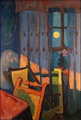 """Qui a peint """"Lumière nocturne dans une chambre"""" ?"""