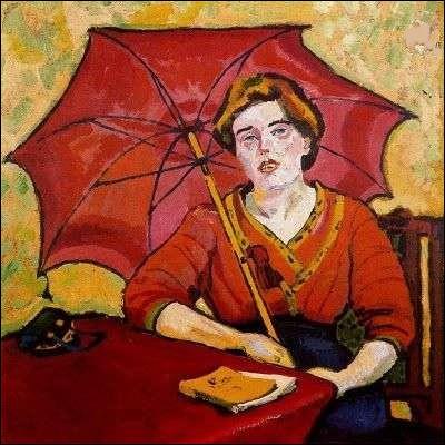 À qui doit-on cette femme à l'ombrelle ?