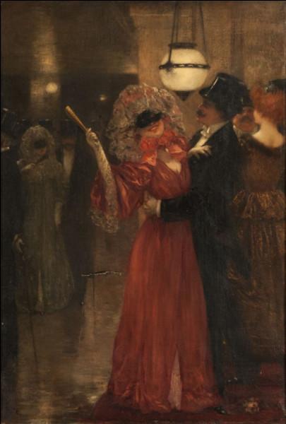 """Qui a immortalisé """"Le Bal masqué à l'opéra"""" ?"""