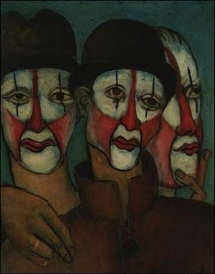 """Qui a peint """"Les Trois Mimes"""" ?"""