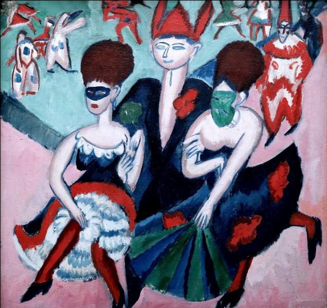 """Qui a représenté """"Les danseuses masquées"""" ?"""