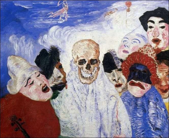 """Qui est l'auteur de """"La Mort et les Masques"""" ?"""