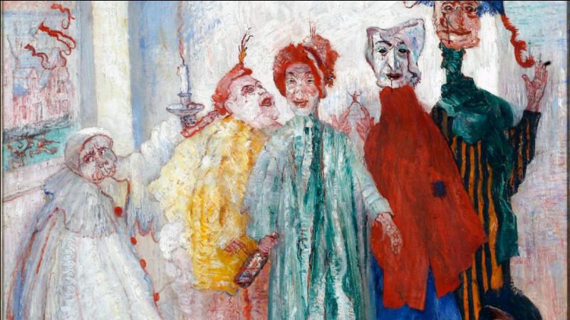 """Qui a peint """"Les Masques singuliers"""" ?"""