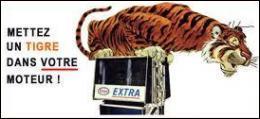 Quelle compagnie pétrolière conseillait autrefois de  mettre un tigre dans son moteur  ?