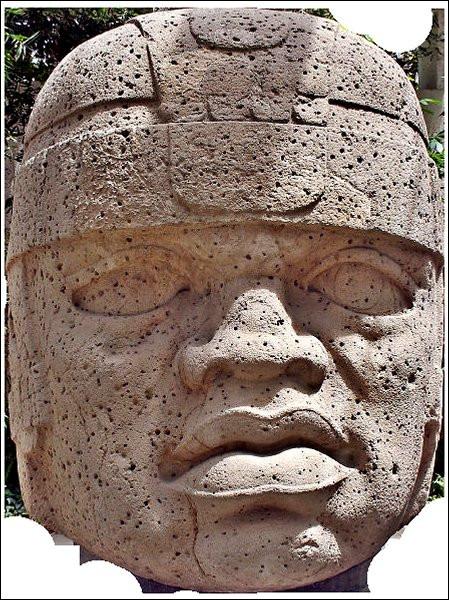 De sacrées têtes, les mecs... > Entre 2500 et 500 avant Djeezus... pardon ! Jésus-Christ, dans le sud du Mexique, cette civilisation pluriethnique fut la mère de toutes les autres en Mésoamérique. Qui étaient-ils ?