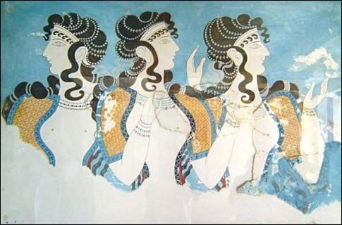 Ils balayèrent la Crète au vent des siècles de - 3 000 à - 1 000 : on connaît d'eux le légendaire roi [...], puis semblent disparaître au cours des ir- ou ér-uptions ...