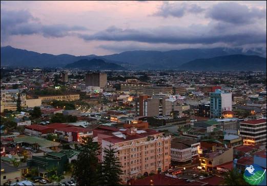 Quelle est cette ville, capitale et plus grande cité du Costa Rica ?