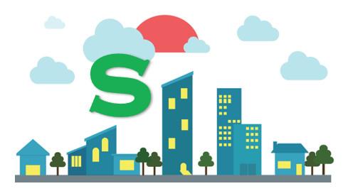 Villes en S