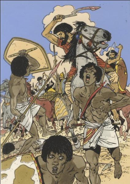 L'Égypte du affronter une horde d'envahisseurs au XIIe siècle av J.-C pendant près d'un siècle. Qui sont-ils ?