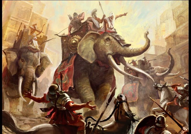 L'Empire romain viendra à bout des Carthaginois lors de combien de guerres Puniques ?