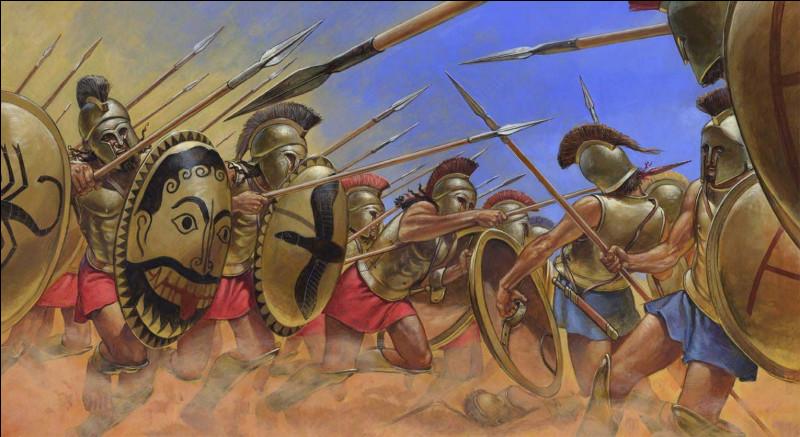Quel est ce terrible conflit qui déchira la Grèce de 431 à 400 av J. -C opposant Sparte à Athènes ?