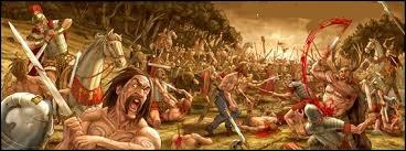 Au terme de combien d'années de guerre, Jules César soumit la Gaule ?