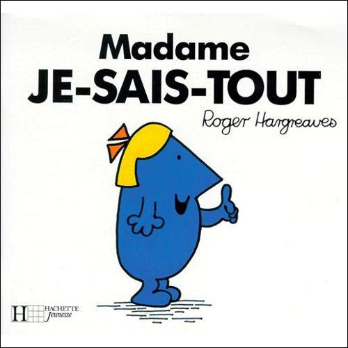 Madame Je-Sais-Tout se vante encore de savoir que le chanteur Antoine a fait ses études au lycée Champollion à Grenoble !