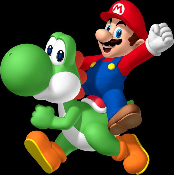 Dans quels jeux, Mario chevauche-t-il Yoshi ?