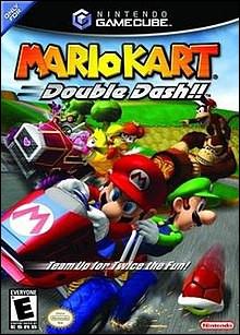 """Avec quel personnage est-il en binôme dans """"Mario Kart Double Dash"""" ?"""
